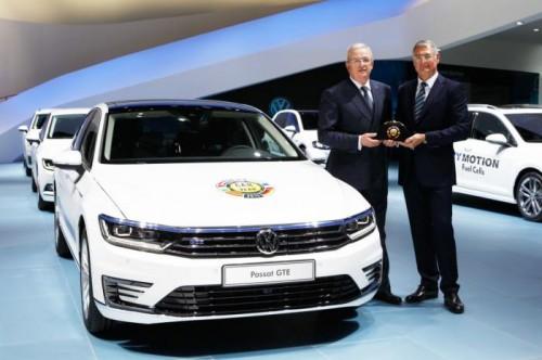 2015 Volkswagen Passat назвали Автомобилем года в Европе.