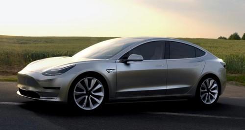 Новые изображения Model 3 утекли в сеть