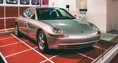 Предшественник Porsche Panamera - Stillborn 989 Sedan