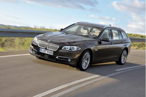 Новые изображения BMW 5 попали в сеть.