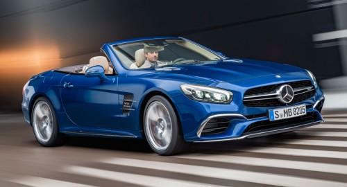 Следующий Mercedes-Benz SL будет спроектирован AMG