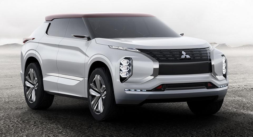 Новый концепт Mitsubishi GT-PHEV может стать новым поколением Outlander