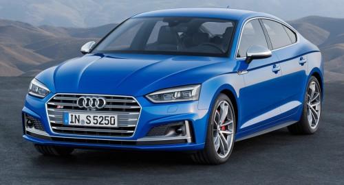 Audi представил новые модели 2017 A5 и S5 в семействе Sportback