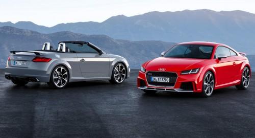 Audi's 400 PS TT отправляется на английский рынок