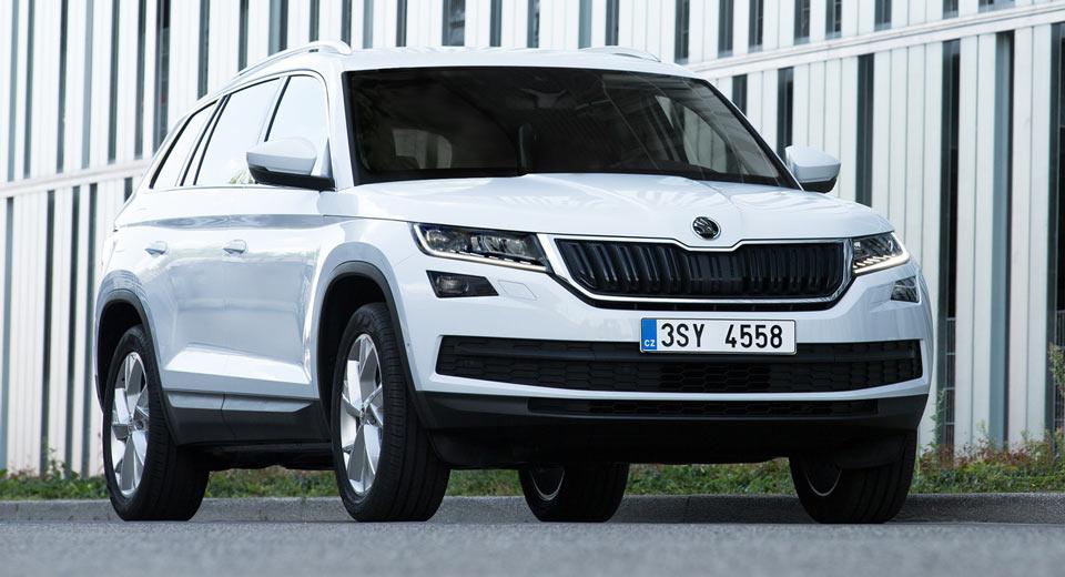 Skoda опубликовала новые фото Kodiaq SUV