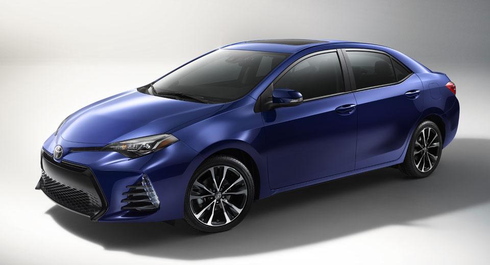 Toyota Corolla получила обновлённую версию