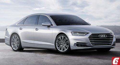 Audi хочет сделать A8 таким же комфортным, как Mercedes S-Class