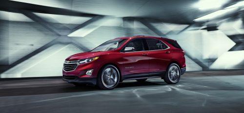 2018 Chevrolet Equinox получит новые силовые установки