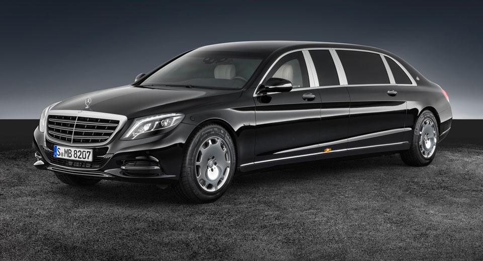Mercedes-Maybach S600 Pullman получил обновление