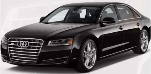 В новой Audi A8 дебютирует новая система виртуальной клавиатуры