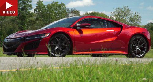 2017 Acura NSX бьет все рекорды