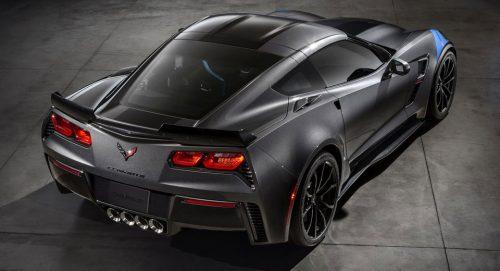 C8 Corvette с центральным расположением мотора может продаваться эксклюзивно с двойным сцеплением.