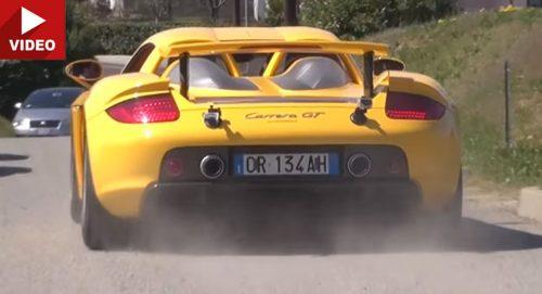Битва V10: Porsche Carrera GT против Lexus LFA
