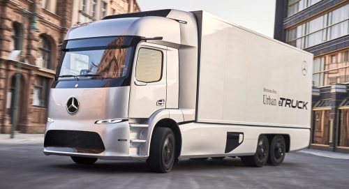 Mercedes-Benz представила свой новый электрогрузовик