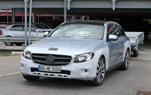 Mercedes-Benz E-Class All-Terrain будет показан на Парижском автосалоне