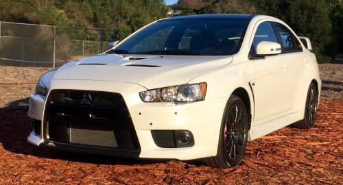 Mitsubishi Lancer Evolution Final Edition – первые впечатления