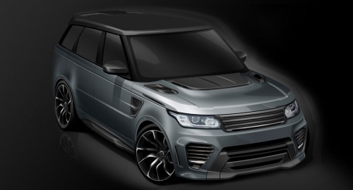 Overfinch Supersport «подарит» Range Rover Sport SVR новое мироощущение