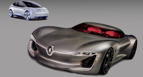Новые концепты Renault и Volkswagen