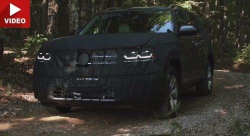 Volkswagen Teramont примеряет новые моторы