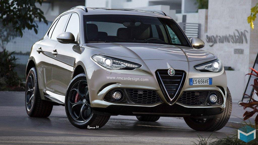 На а Авто Шоу в Лос-Анжелесе будет представлен новый Alfa Romeo Stelvio SUV