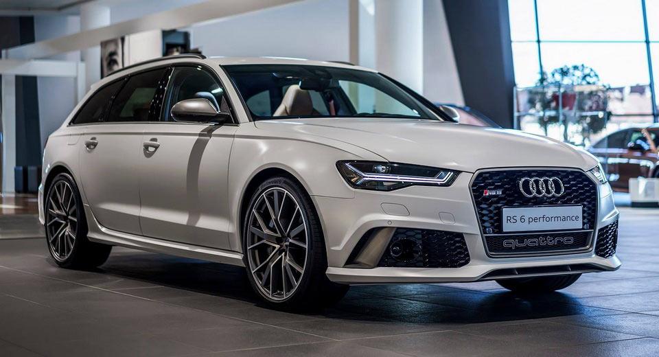 Audi RS6 Performance для утонченных натур