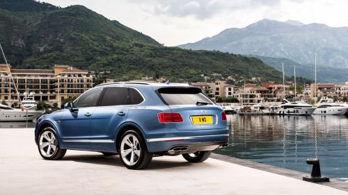 Bentley выпустила первый автомобиль с дизельным двигателем