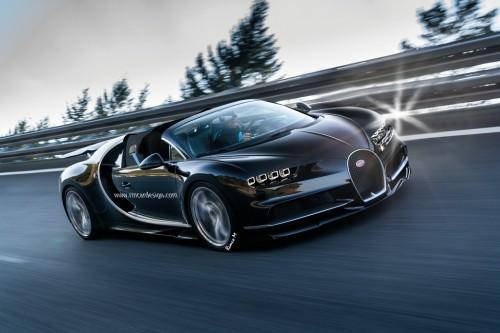 Bugatti пока не планирует выпуск специальных версий Chirons