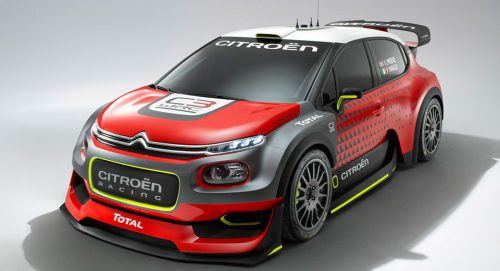 Citroën возвращается в раллийные гонки с C3 WRC Concept