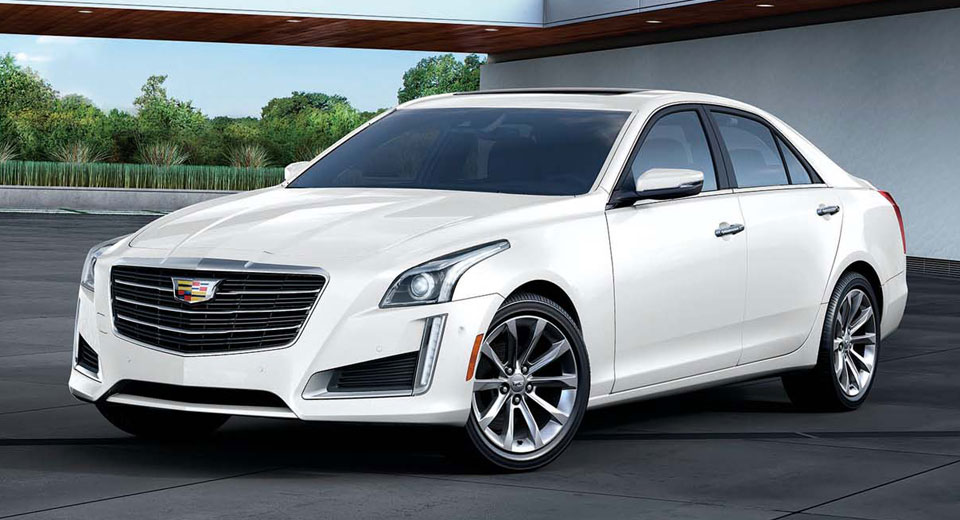 Cadillac запускает эксклюзивную «белую» версию ATS & CTS
