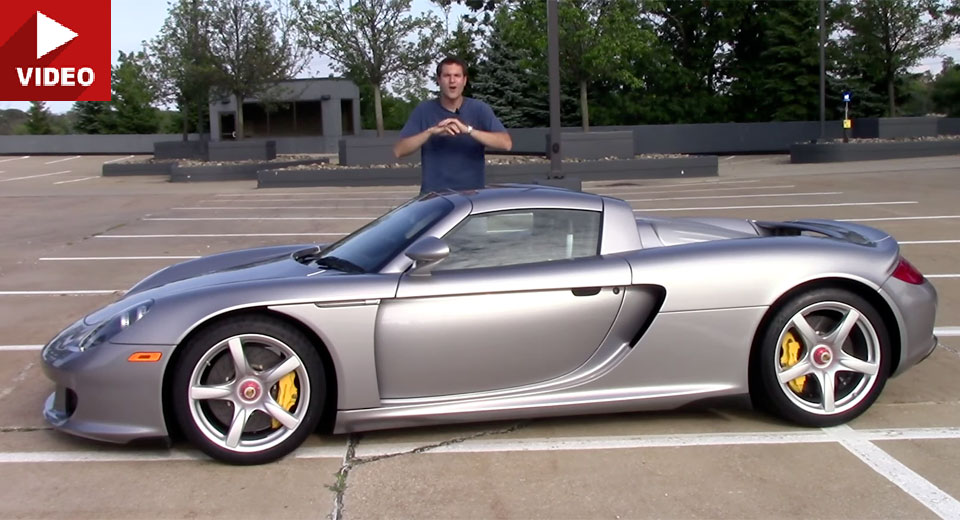 Porsche Carrera GT может стать лучшим автомобилем из когда либо созданных