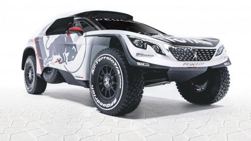 Peugeot зделали нового монстра для Дракара