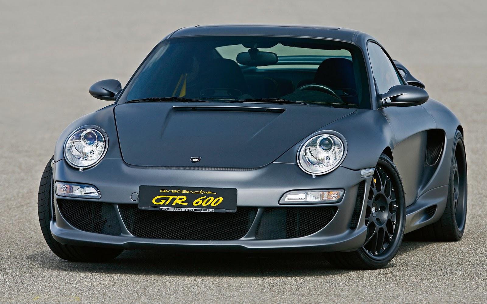 Голос из прошлого: Porsche 911 Turbo Avalanche GTR 600