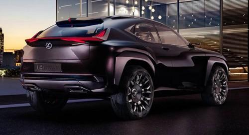 В сеть просочились новые изображения Lexus UX