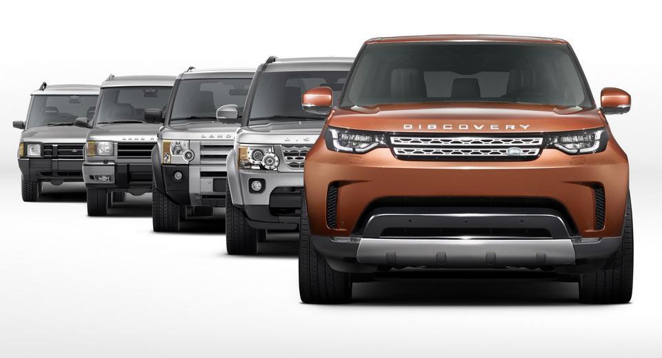 2017 Land Rover Discovery, возможно дизельный