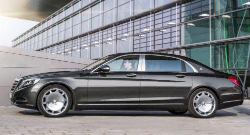 2017 Mercedes S-Class, получит новое обновление Maybach S550