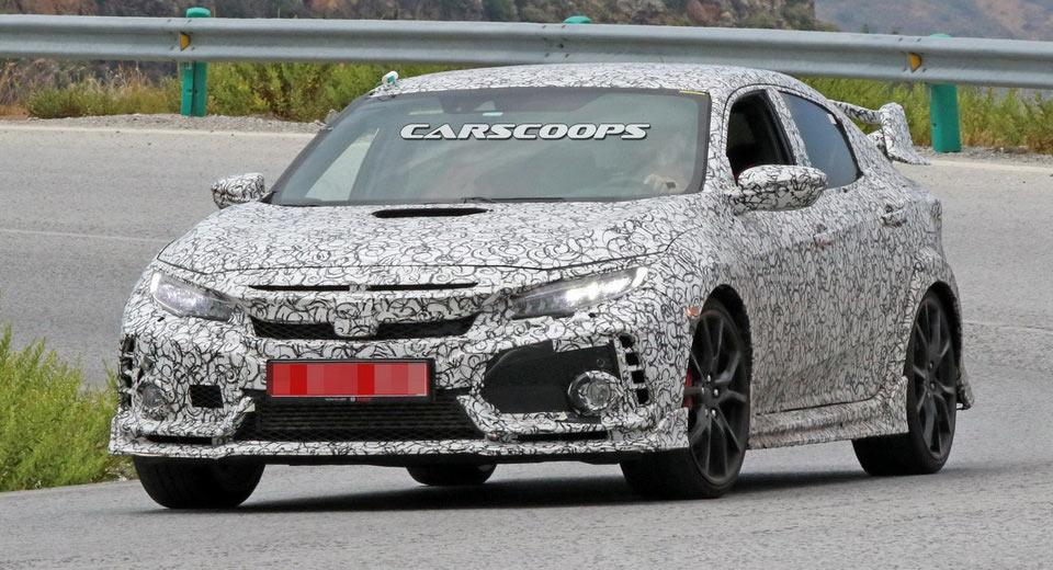 2018 Honda Civic Type R готовиться к большому открытию