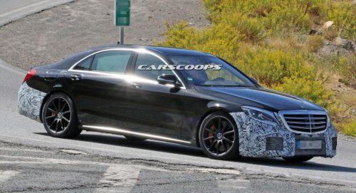Mercedes вносит последние изменения в S-Class и S63 AMG