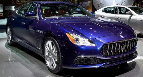 Обновлённая 2017 Maserati Quattroporte была представлена в Париже