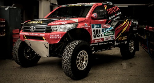 Toyota готова покорять ралли Дакар, с новым Hilux Evo