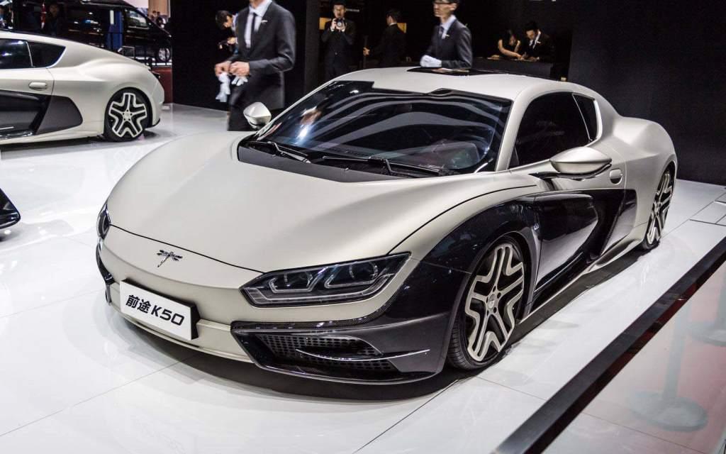 Китайская компания Qiantu хочет привести спорткары в Америку