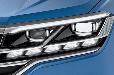 Новая система освещения в Volkswagen Touareg