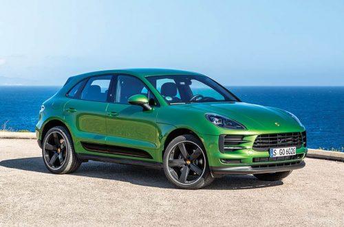Porsche Macan Electric промелькнул в сети