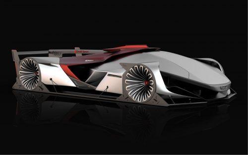 Vision Le Mans – полностью электрический гиперкар от Бугатти