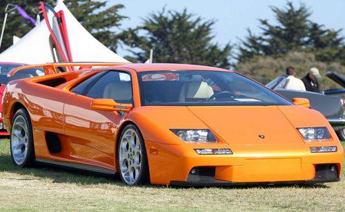 Lamborghini Diablo слегка преобразили