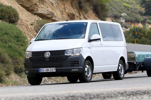 Полным ходом тестируется фургон Volkswagen Transporter T7