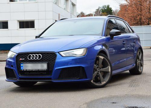 Уже проходят тесты обновленного Audi RS3