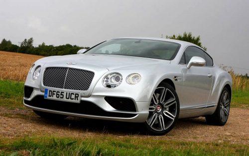 От Bentley Continental GT глаз не оторвать