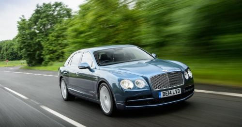 Уже началась сборка Bentley Flying Spur V8