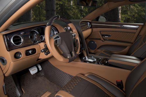 В отделке Bentley появился твид