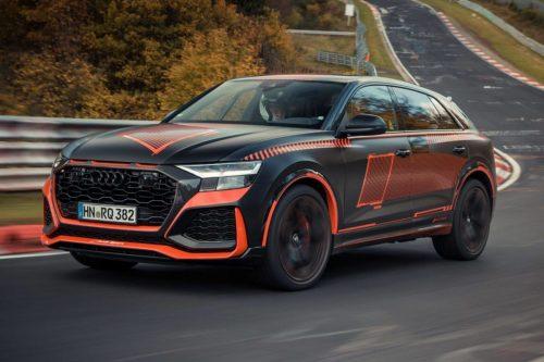 Сколько нужно приготовить для покупки Audi RS Q8